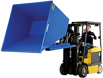 Vestil D-200-HD Self Dumping Hopper