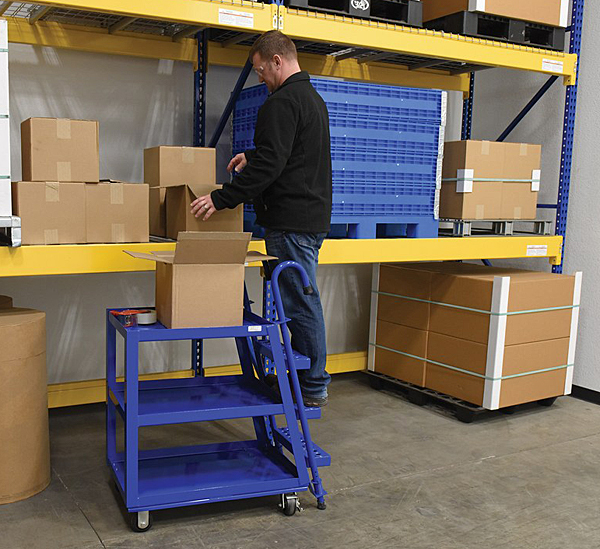 Vestil SPS3-2236 Stock Picker Cart