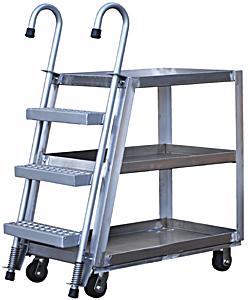 Vestil SPA3-2236 Stock Picking Cart