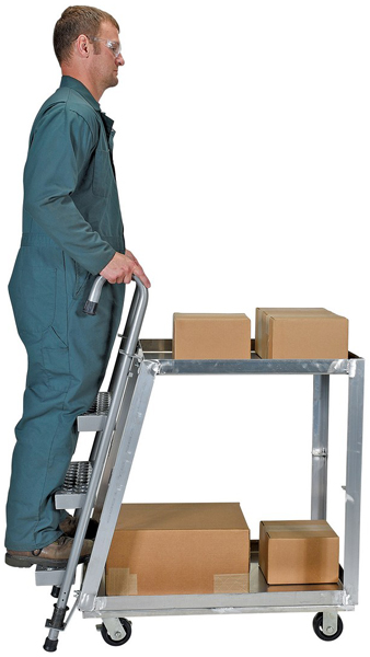Vestil SPA2-2236 Stock Picking Cart