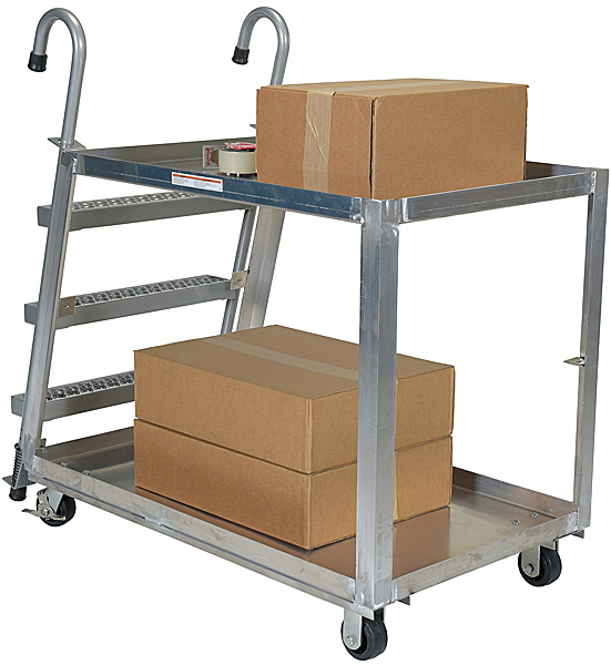 Vestil SPA2-2448 Stock Picking Cart