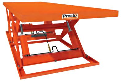 Presto X4W48T-80 Wide Base Tandem Lift Table