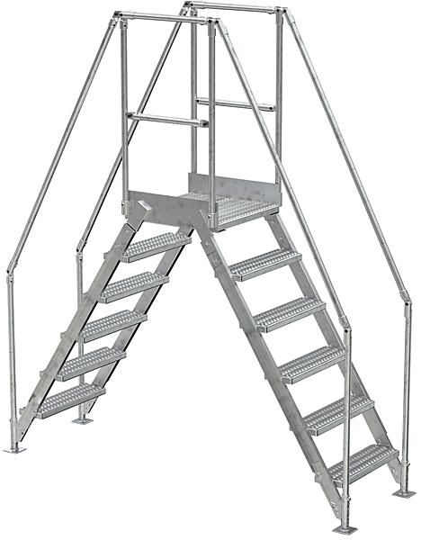 Vestil COL-AL-6-56-14 Aluminum Crossover Ladder