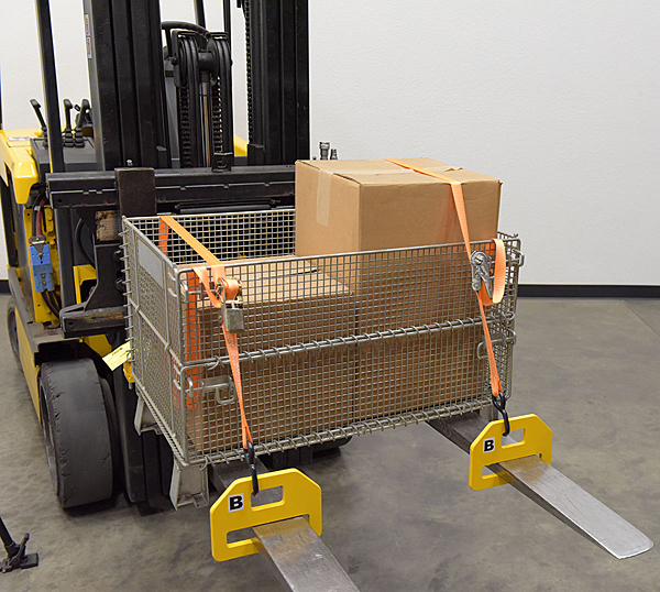 Forklift Tie Down Clamps