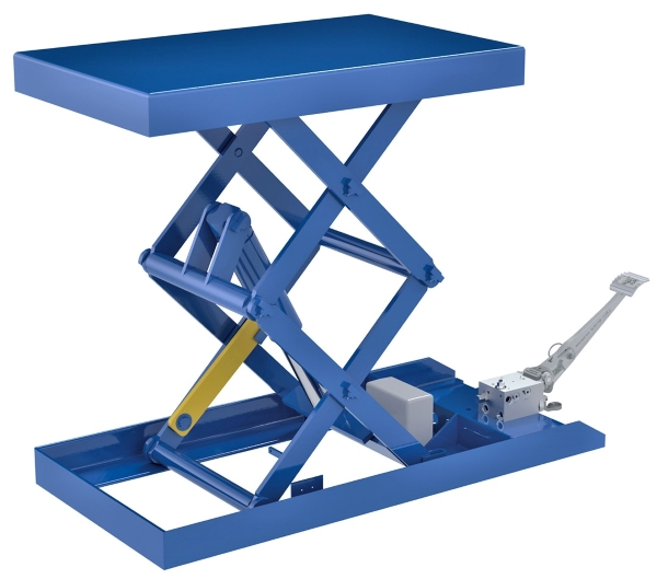 Vestil SCTABD-750-2040-FP Foot Pump Scissor Lift Table