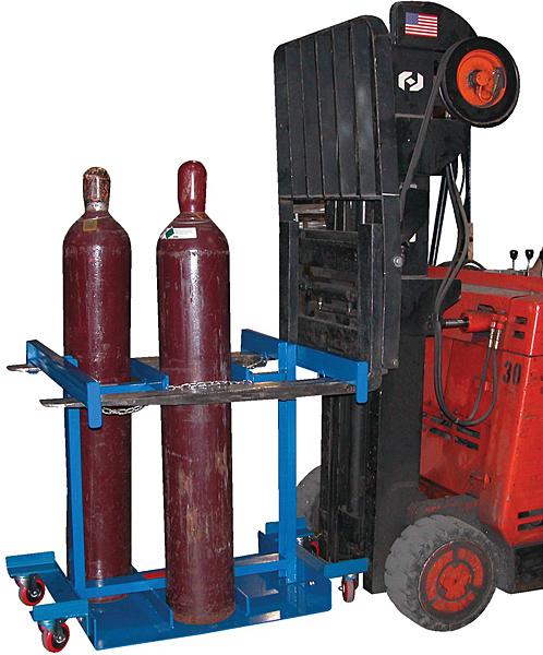 Vestil CYL-TRUCK-6 Forklift Cylinder Cart