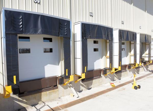 Vestil SGP Steel Loading Dock Guards