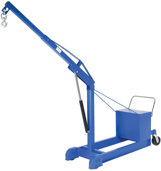 Vestil CBFC-1000-AIR Counterbalance Floor Crane with Powered Lift