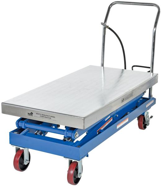 Vestil AIR-1500-D Pneumatic Lift Cart