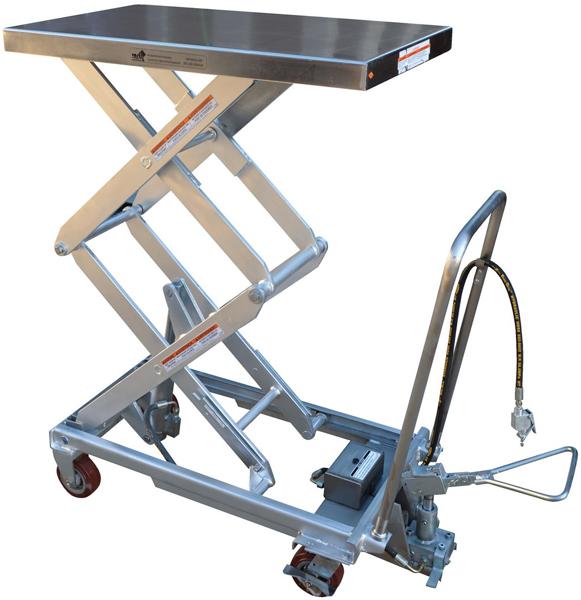 Vestil AIR-800-D-PSS Pneumatic Lift Cart