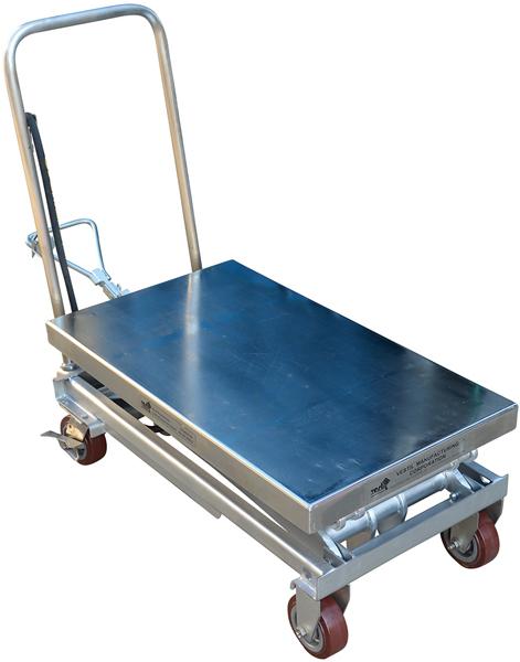 Vestil AIR-800-D-PSS Pneumatic Scissor Lift Cart