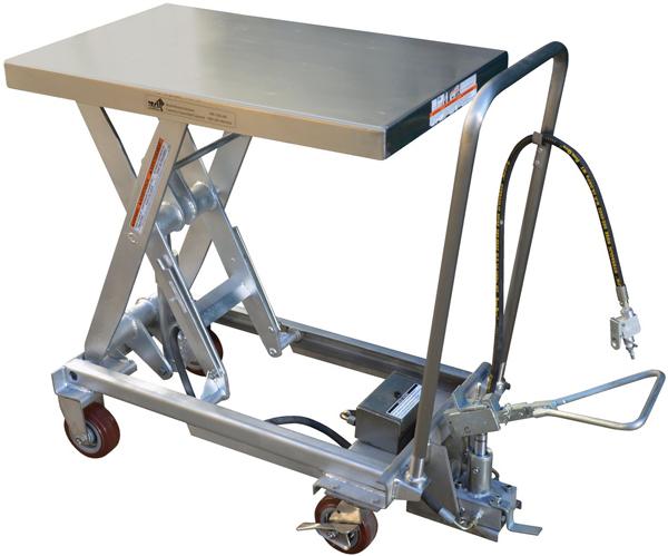 Vestil AIR-1000-PSS Pneumatic Lift Cart