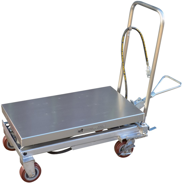 Vestil AIR-1000-PSS Pneumatic Scissor Lift Cart