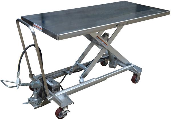 Vestil AIR-1000-LD-PSS Pneumatic Lift Cart