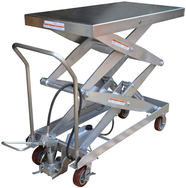 Vestil AIR-1500-D-PSS Pneumatic Lift Cart