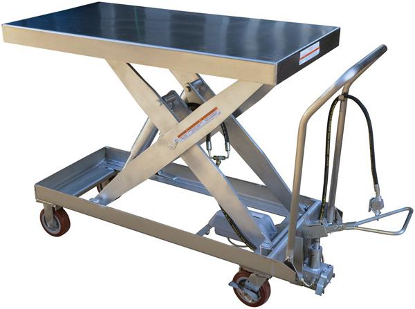 Vestil AIR-1750-PSS Pneumatic Lift Cart