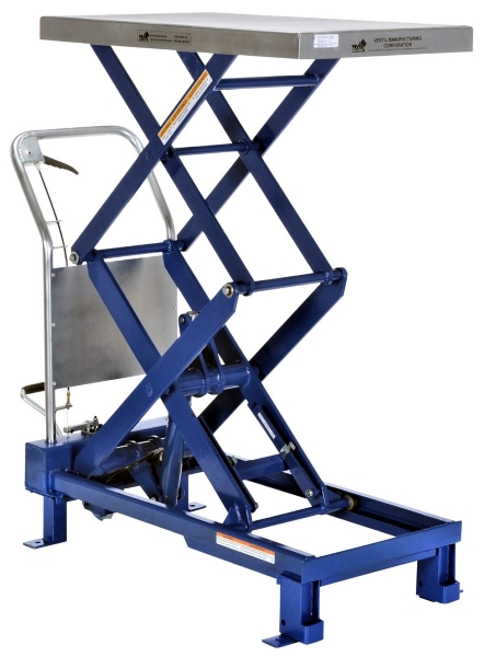 SCTAB-800D Foot Pump Scissor Lift Table