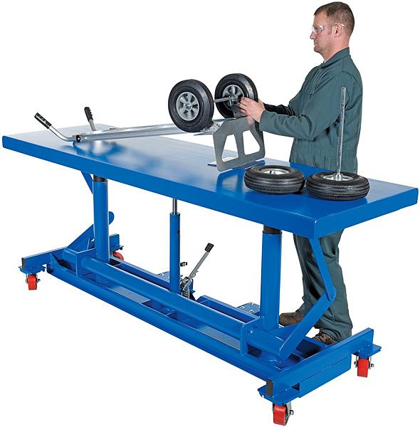 Vestil LDLT-3096 Long Deck Cart