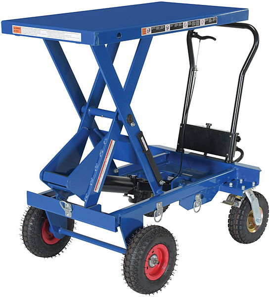 Vestil CART-PN-1500 Rough Terrain Elevating Cart