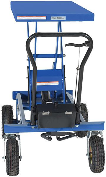 Vestil CART-PN-1500 All Terrain Lift Cart