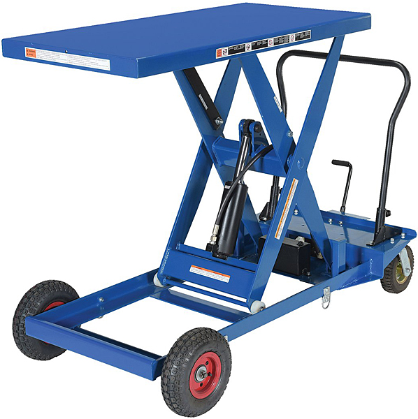 Vestil CART-PN-1000 Rough Terrain Elevating Cart