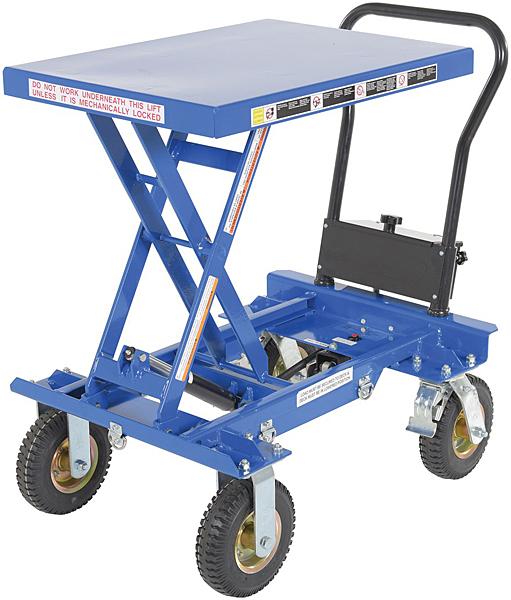 Vestil CART-PN-600 Rough Terrain Elevating Cart