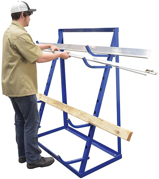 Vestil HSR-4860 Bar Stock Rack