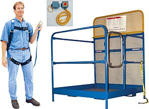 Vestil WP-4848-FF Full Featured Forklift Work Platform