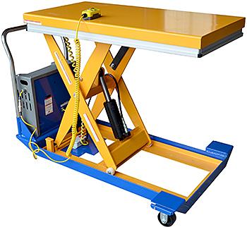 Vestil CART-32-15-DC Electric Scissor Cart