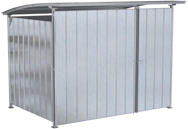 Vestil MDS-96-DR-HDG Galvanized Storage Building