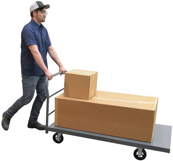 Vestil ECSPT-3060 Steel Platform Cart