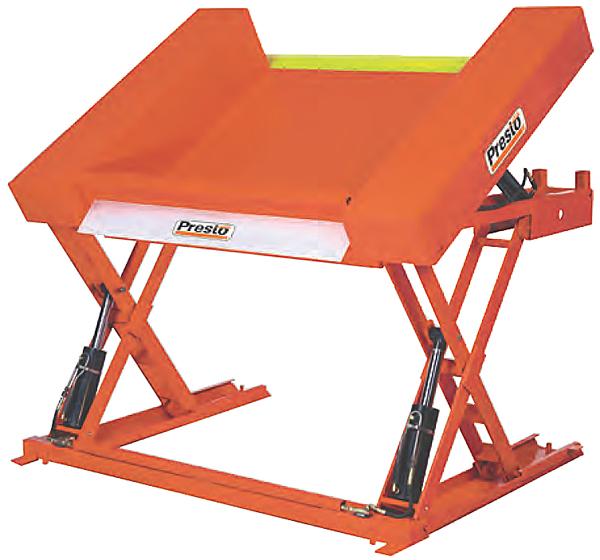 Presto XZT Floor Level Lift and Tilt Table