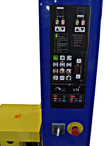 Vestil SWA-82-AW Control Panel