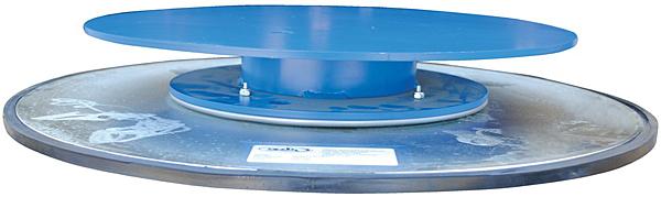 Vestil TT-N-24-4 Manual Industrial Turntable