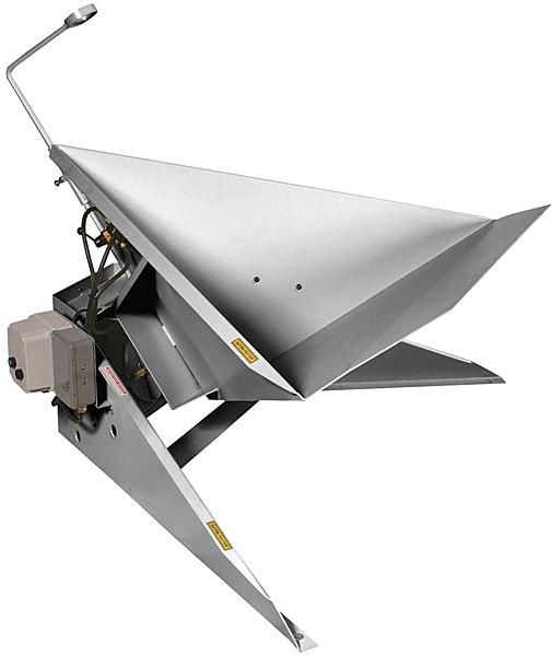 Vestil AIR-THL-SS Stainless Steel Air Corner Tilter