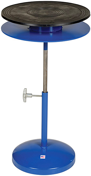 Vestil TT-18-DPED Manual Lift Industrial Turntable
