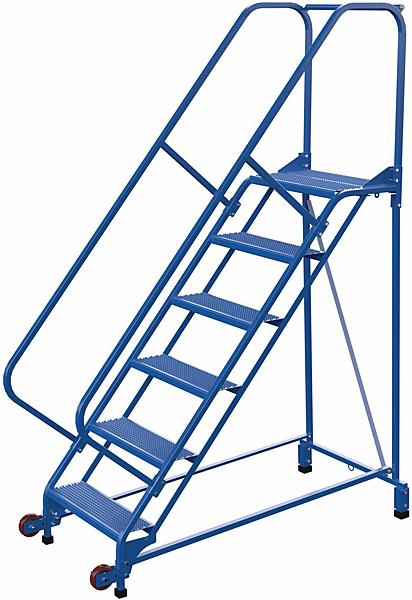 LAD-TRN-50-6-P Tip N Roll Mobile Ladder