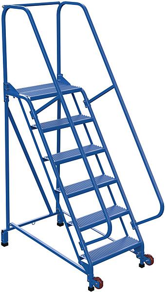 LAD-TRN-60-6-P Tip N Roll Mobile Ladder