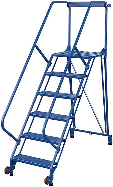 LAD-TRS-50-6-P Tip N Roll Mobile Ladder