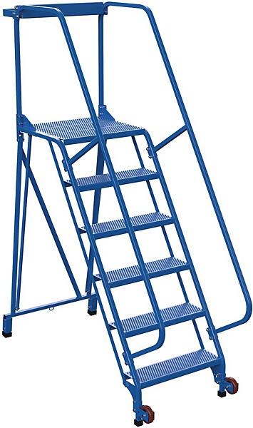LAD-TRS-60-6-P Tip N Roll Mobile Ladder