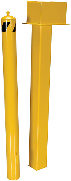 Vestil BOL-SSTOR-Vestil BOL-SSTOR-42.5 Retractable BollardSelf-Storing Bollard