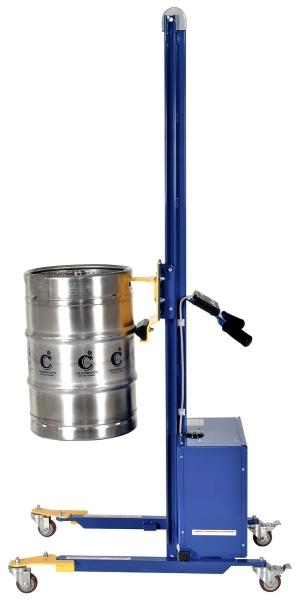 Vestil PEL-400S-72-D3-KEG Powered Keg Lifter