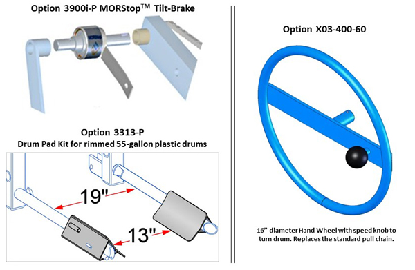 Morse 405 Options
