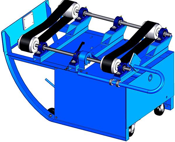 Morse 201B/20-E1 Portable Drum Roller