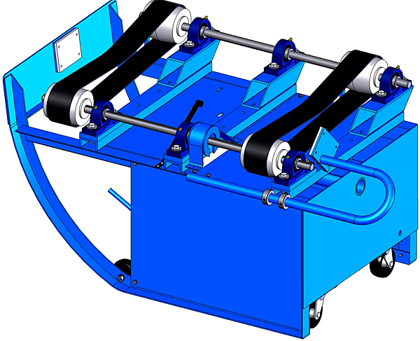 Morse 201BVS-1 Portable Drum Roller