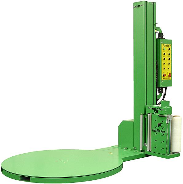 Highlight PREDATOR-XS-LP Low Profile Stretch Wrap Machine