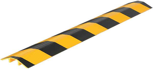 Vestil LHCR Yellow & Black Aluminum Cable Protector