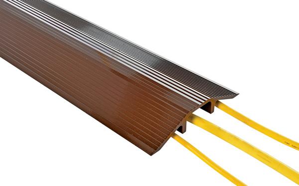 Vestil LHCR Aluminum Cable Protector - Brown