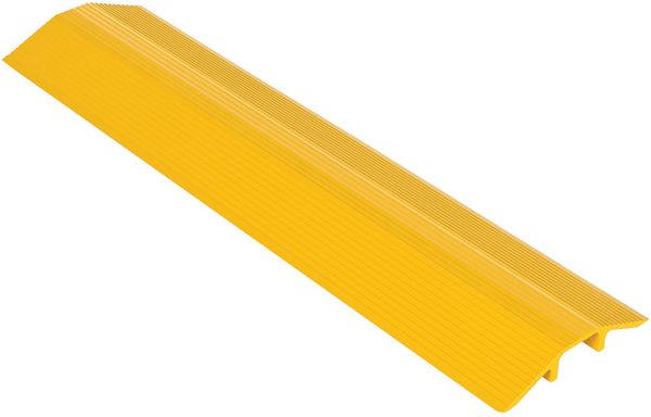 Vestil LHCR Yellow Aluminum Cable Protector