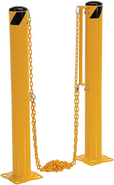 Vestil DCBB-42-4.5 Bollards with Chains